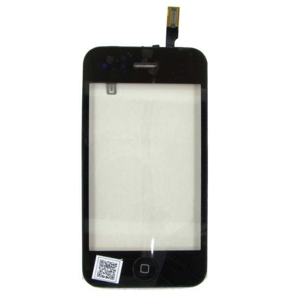 Тачскрин Apple iPhone 3G black в рамке